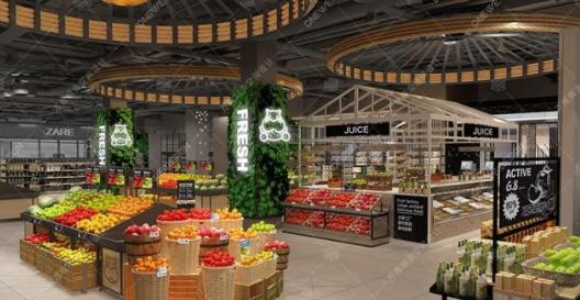 零售设计展:玩转生鲜超市视觉陈列设计,你必须知道的几点!