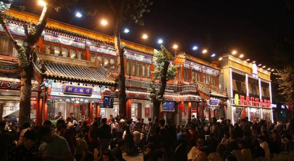 新零售展:北京夜间餐饮消费现小高潮 清明3天同比增近五成