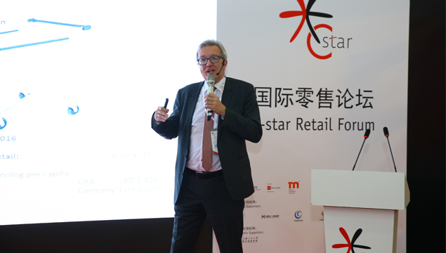 C-star Retail Forum Speaker Topic review - Mr.Silvio Kirchmaier from Umdasch