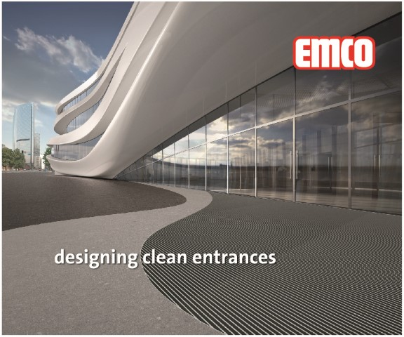 emco entrance mat systems for effective dirt reduction