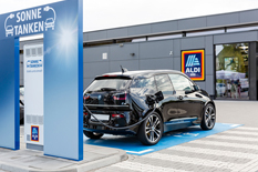 Sugar, Soap and Some Solar Power German Food Retailer Offers Green Energy for E-Cars – Free of Charge